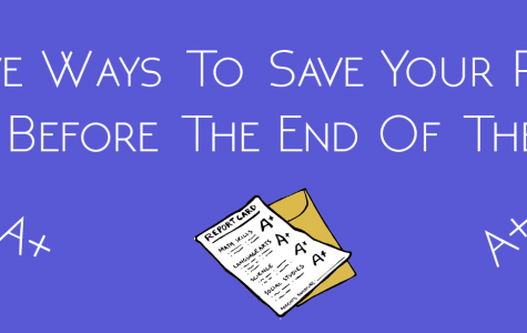 12 Steps to Save Your Report Card Before the End of the Year