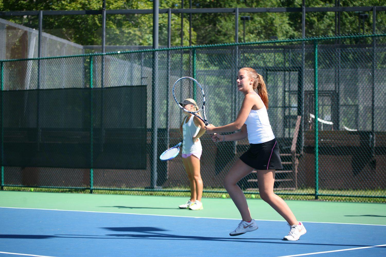Girls' Tennis Season 2015