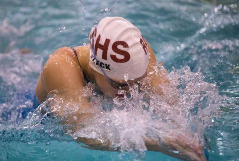 Girls' Swim Season 2015