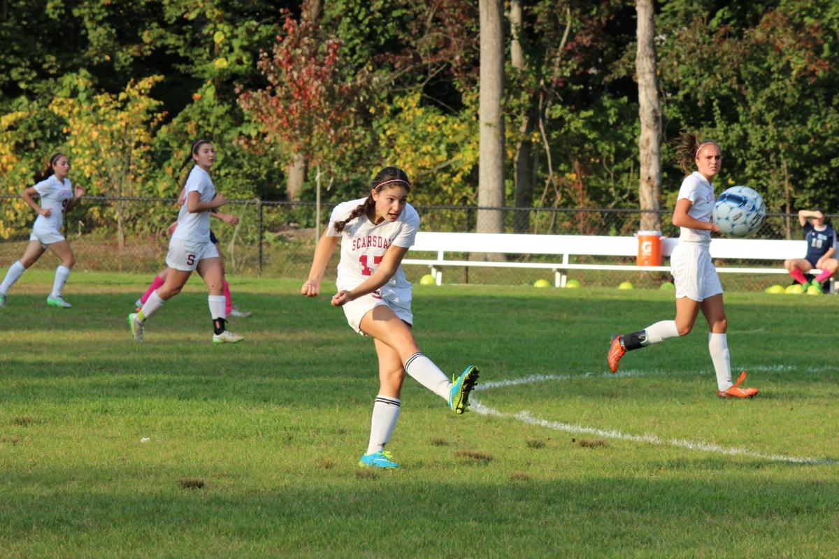 Girls' Soccer Season 2015