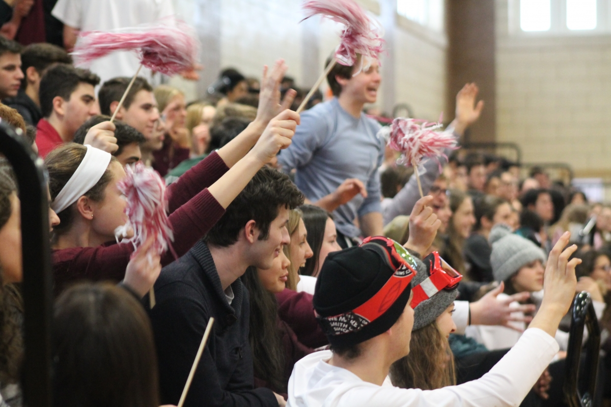 SHS's First Winter Pep Rally