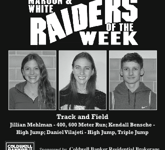 Maroon and White Raiders of the Week