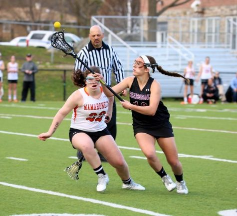 Girls Lax Beats Mamo in Overtime
