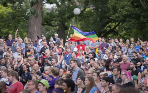 Vigil on 6/20/16 for Victims of Orlando Shooting