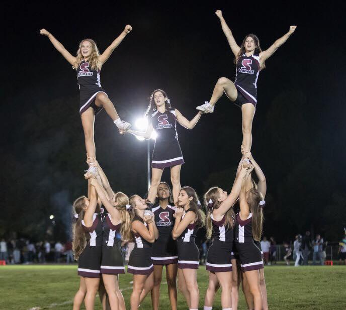 Photo Credit: Girl's Varsity Cheerleading