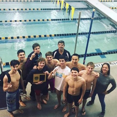 Boys' Swimming 2017