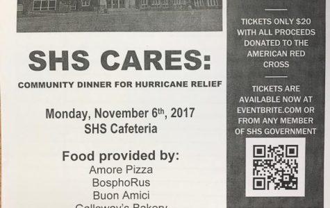 ALERT: Attend the SHS Community Dinner for Hurricane Relief!