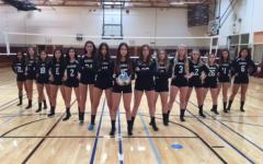 Girls' Varsity A Volleyball Scores Big