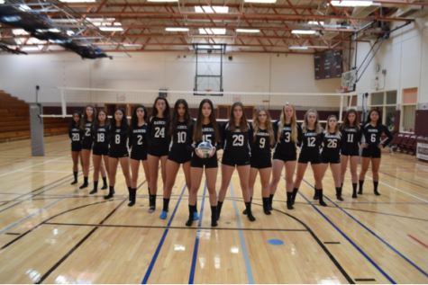Girls' Varsity A Volleyball Wrap-up 2017