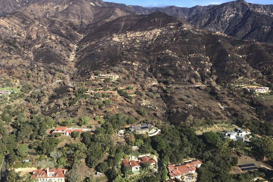 Mudslides in California