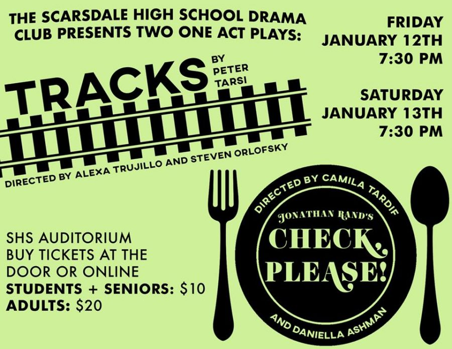 Tracks/Check, Please! Review