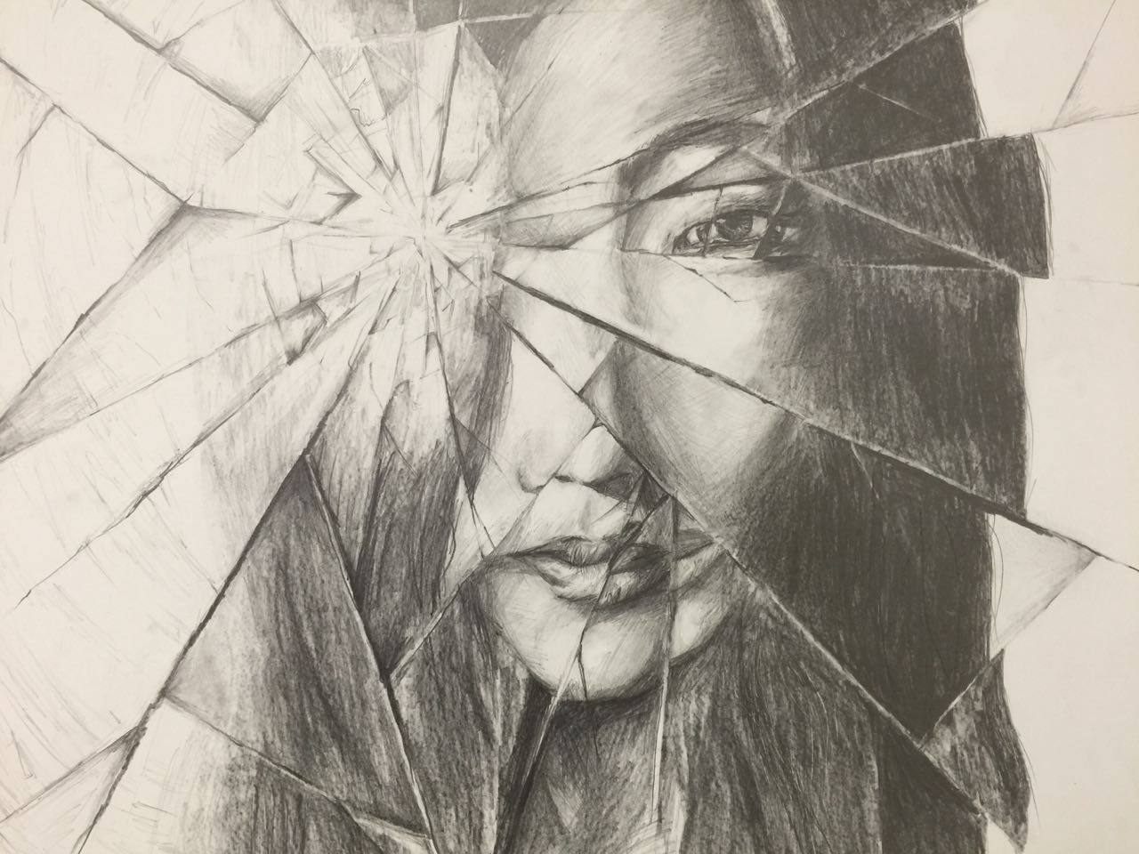Broken Reflection, by Lucy Du '20