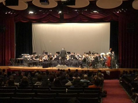 SHS Band Concert Before Break