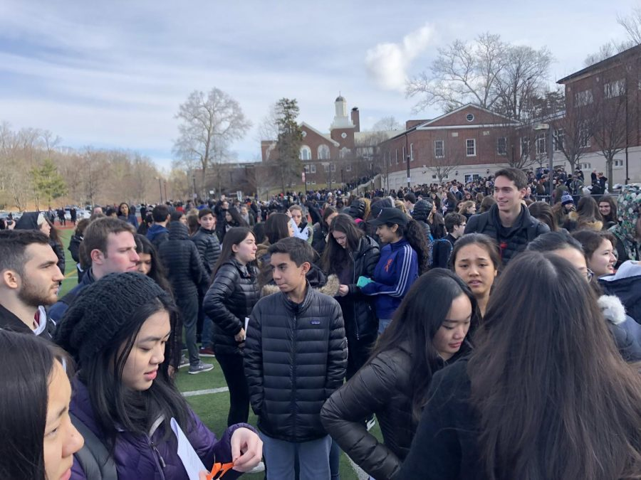 SHS Students Support Stoneman Douglas Nationwide Walk out