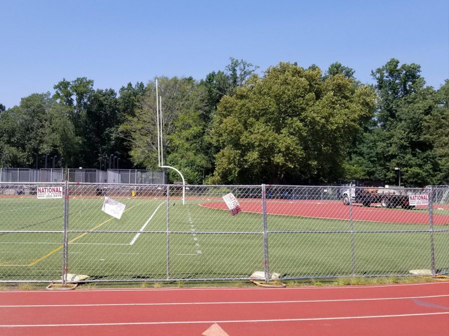 Field Renovations to Inconvenience Athletes