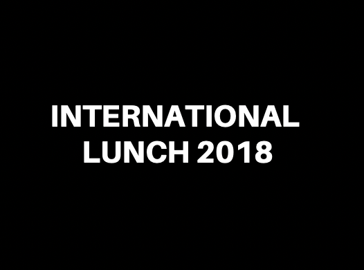 International Lunch 2018