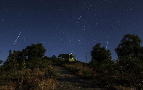 Geminid Meteor Shower Lights up the Sky
