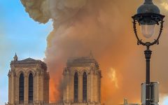 Fire Breaks Out in Paris's Notre Dame Cathedral