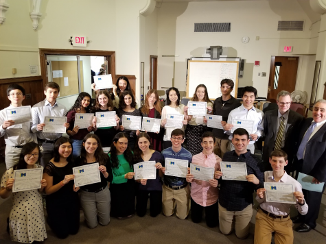 Performances and Honors at 2019 Tri-M Induction Ceremony