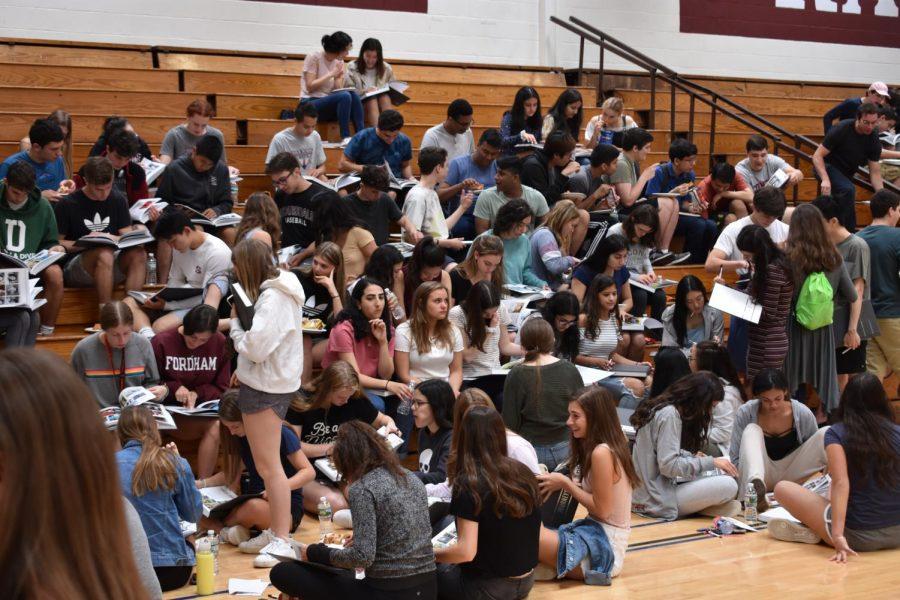 Senior Class Celebrates with Luncheon
