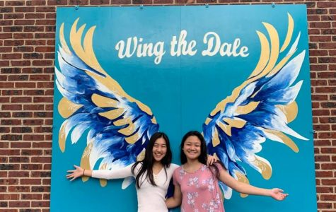 SHS Artists Paint the Town White, Blue and Gold