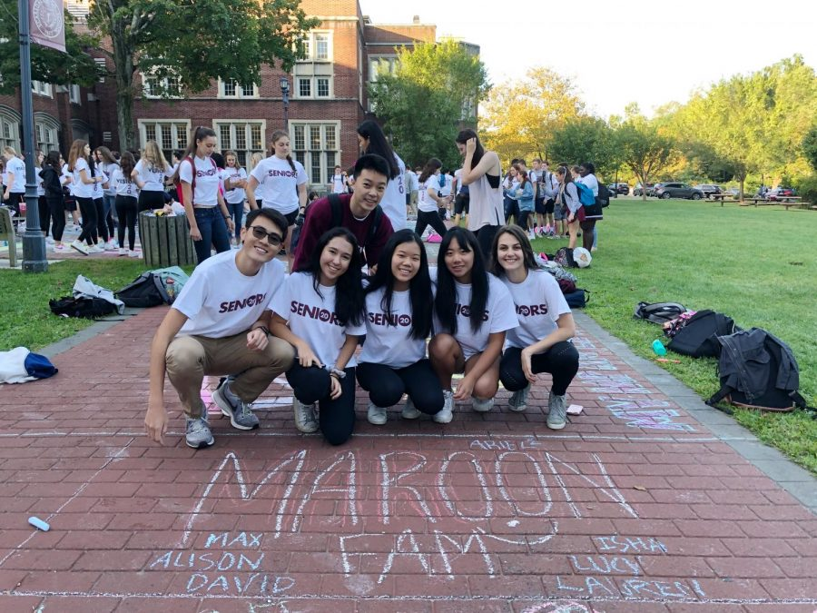 Senior Chalking Photo Gallery