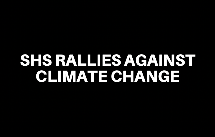 SHS Rallies Against Climate Change