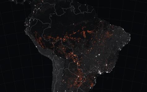 Fires Rage Through the Amazon