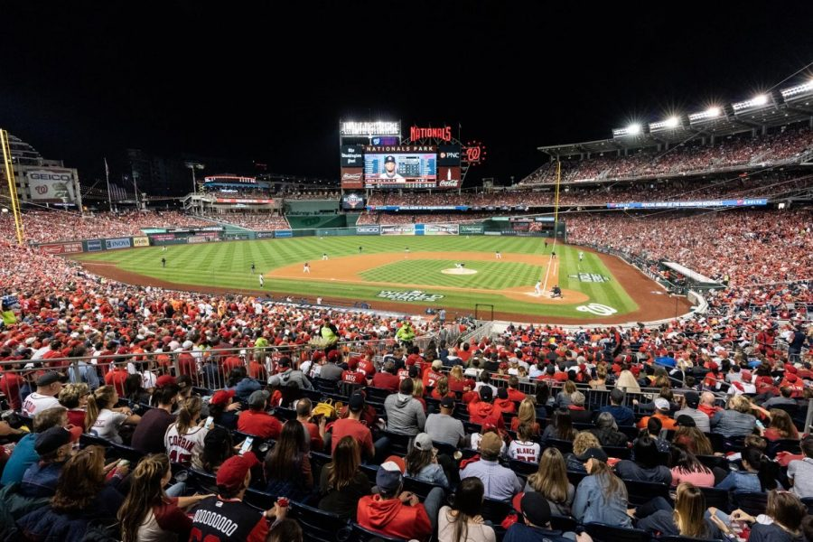An+overhead+view+of+Nationals+Park%2C+where+the+2019+World+Series+took+place.+%0A