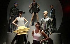 Maroon Couture: Pierre Cardin Exhibit