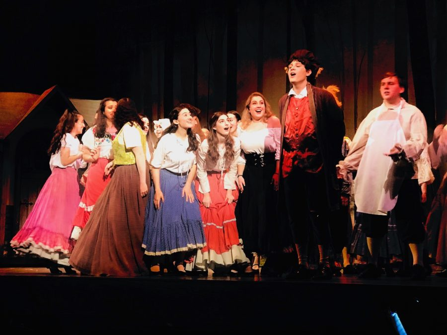 The SHS Drama Club's production of Cinderella ran from Friday, November 22 to Sunday, November 24.