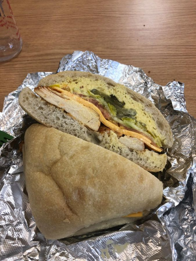 SHS' sandwich-ordering app, Nutrislice, is a convenient and valuable addition to the cafeteria and reduces wait time for made-to-order sandwiches.