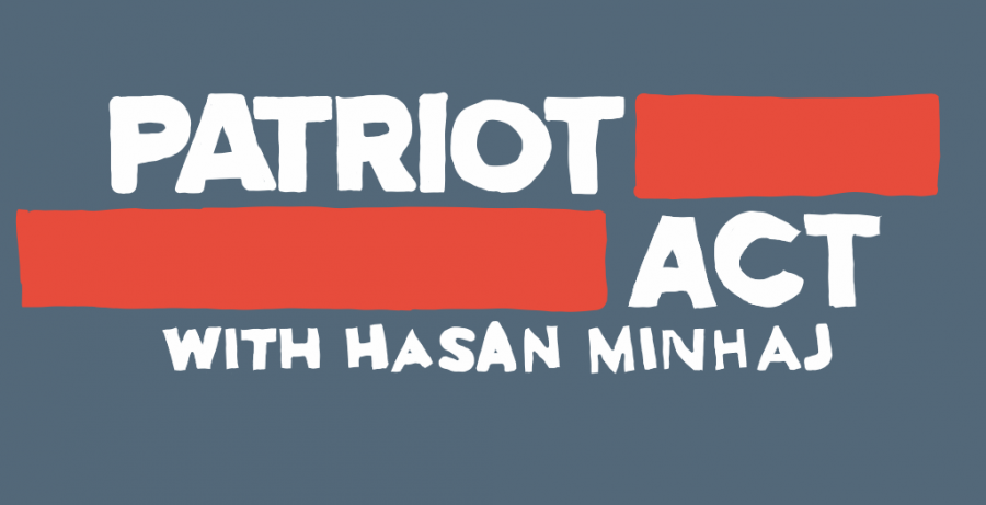 """Comedian Hasan Minhajs Netflix talk show, """"Patriot Act, supplies a distinct perspective that is not just welcome, but necessary."""