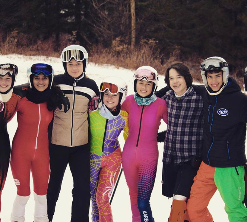 On February 10, Scarsdale High School's ski team made its way over to Hunter Mountain to attend sectionals.