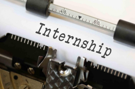 SHS A-School students completed their internships during the month of January.