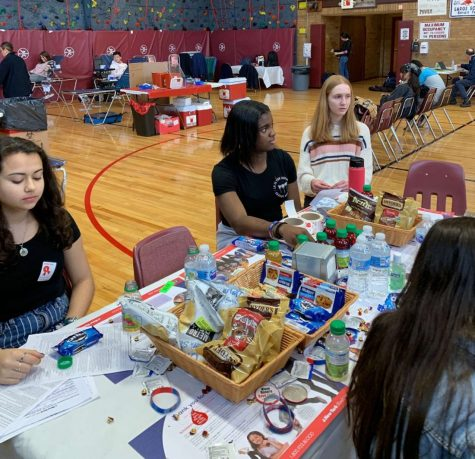 In early March, the Sophomore class government organized a blood drive with the New York Blood Center.