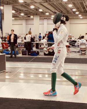 Sophomore Sedna Gandhi and Her Passion For Fencing