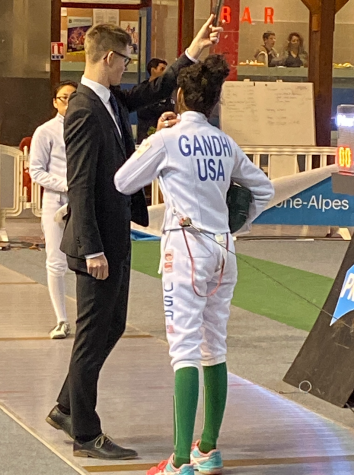 Maroon Sophomore Sedna Gandhi And Her Passion For Fencing