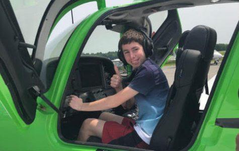 Jamie Spielman, a Pilot-in-Training!