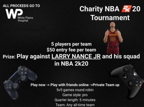 In an attempt to support White Plains Hospital, SHS Juniors Noah Weber and Max Roth recently launched an NBA 2k20 video game tournament. The tournament is open to both Xbox and PS4 and will be in the format of 5v5 team matchups. Teams can be any NBA team they desire, and the tournament is round-robin, followed by single-elimination.