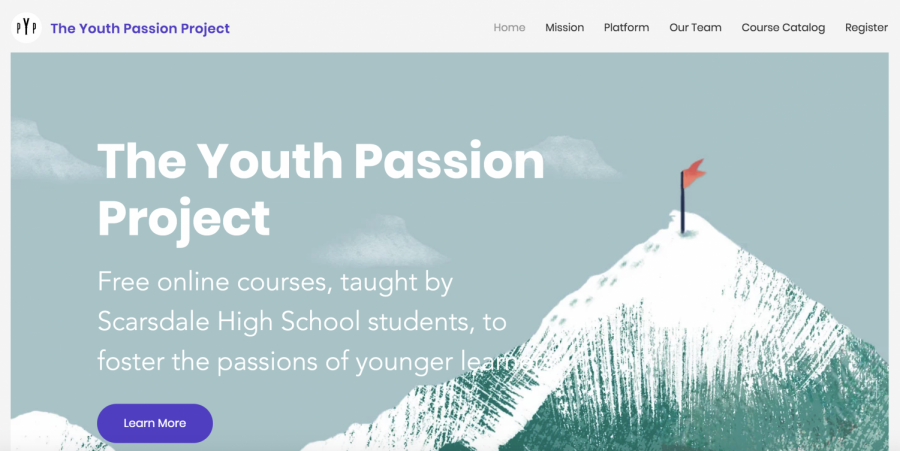 The Youth Passion Project is an organization created by SHS students in wake of the Coronavirus Pandemic which led to school closure. The organization strives to help students develop new interests and skills in their free time during the Pandemic.