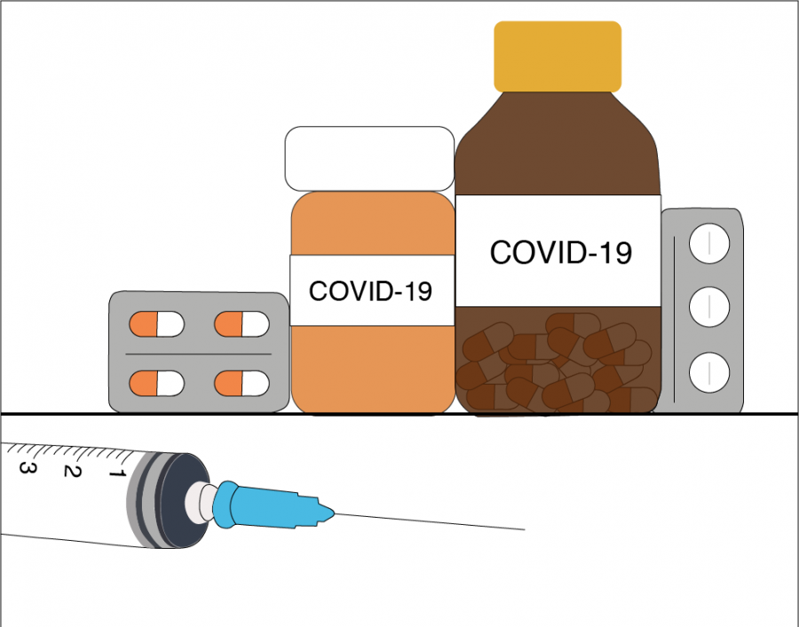 Scientists+are+conducting+several+studies+to+discover+possible+treatments+to+coronavirus%2C+as+well+as+ways+to+prevent+its+spread.