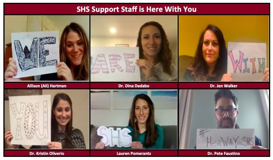 A heartfelt and inspiring message from the SHS Support Staff.