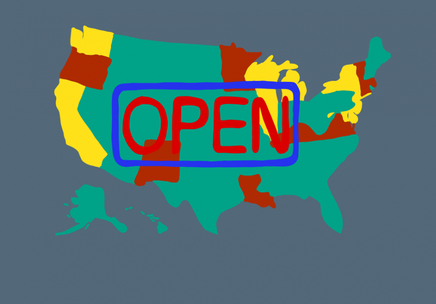 States Make the Decision to Slowly Reopen