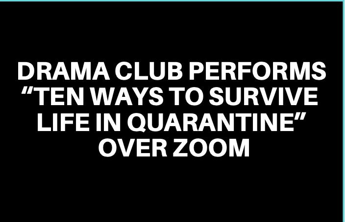 Drama Club Performs