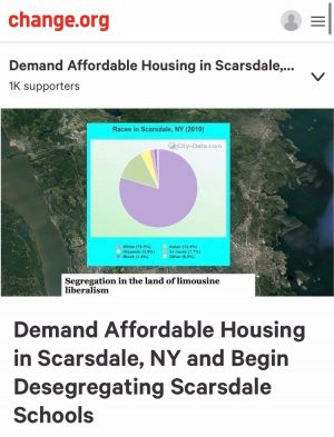 Scarsdale should be held accountable for their exclusionary zoning practices.