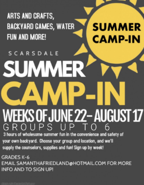 Student-run Camps Emerge in the Summer of 2020