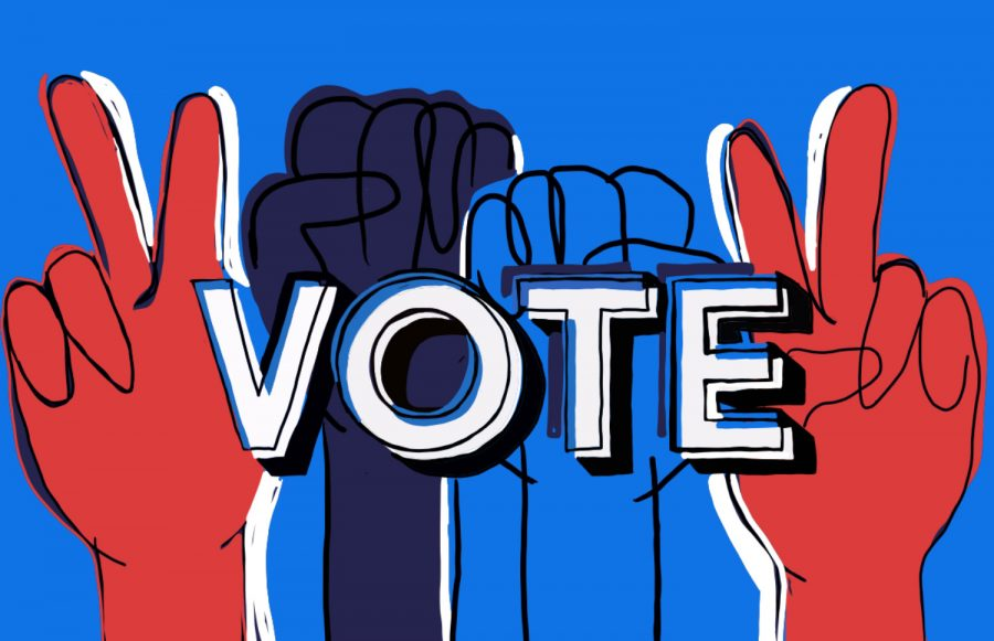 Students who are not of voting age still have numerous opportunities to engage in the election process.