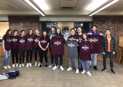 SHS students partnered with the Exoneration Initiative helping spread awareness of wrongfully convicted people in jail.