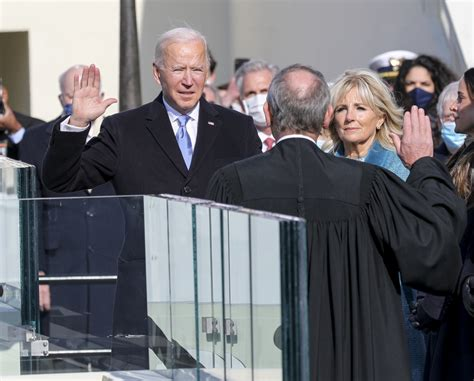 Biden has been officially inaugurated as the 46th president of the United States.